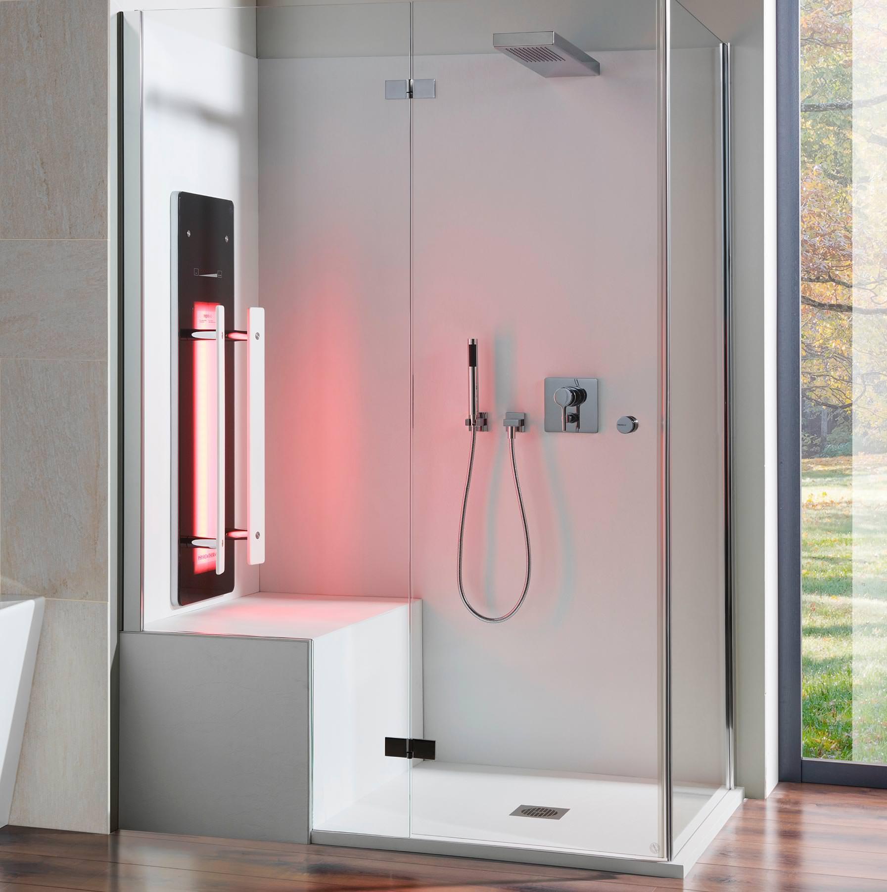 bilbao macht aus duschen infrarotoasen. Black Bedroom Furniture Sets. Home Design Ideas
