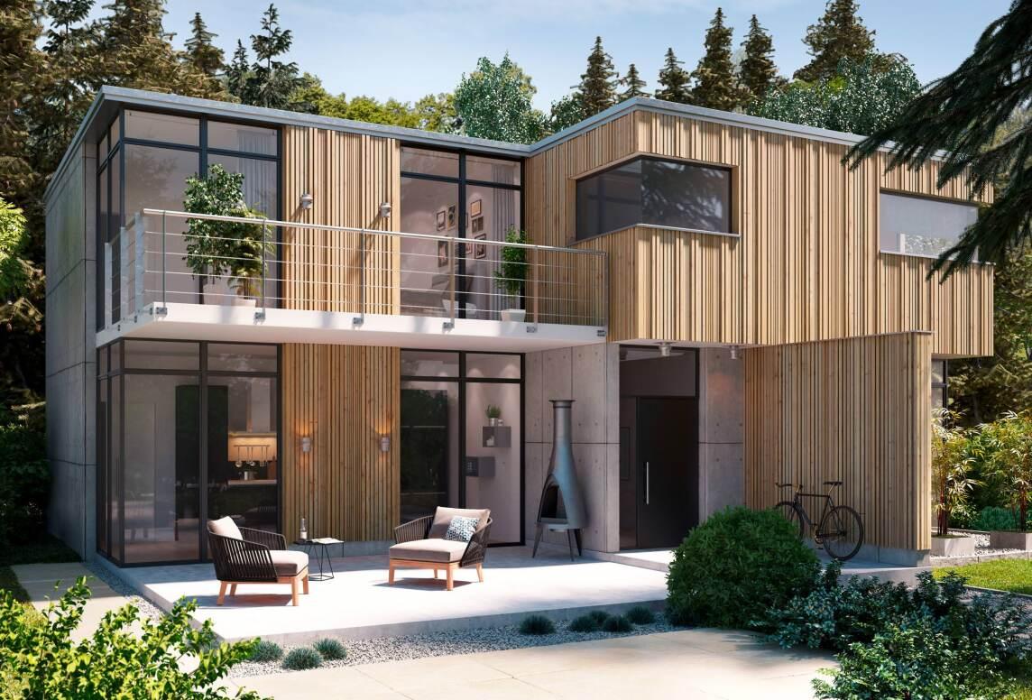 Holz Fassaden r3d holzfassaden mit vollholzprofilen in 3d optik für prägnante unikate