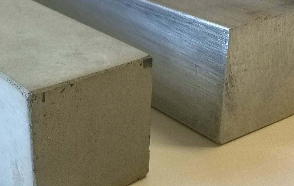 steifer als aluminium nanodur beton neu von dyckerhoff. Black Bedroom Furniture Sets. Home Design Ideas