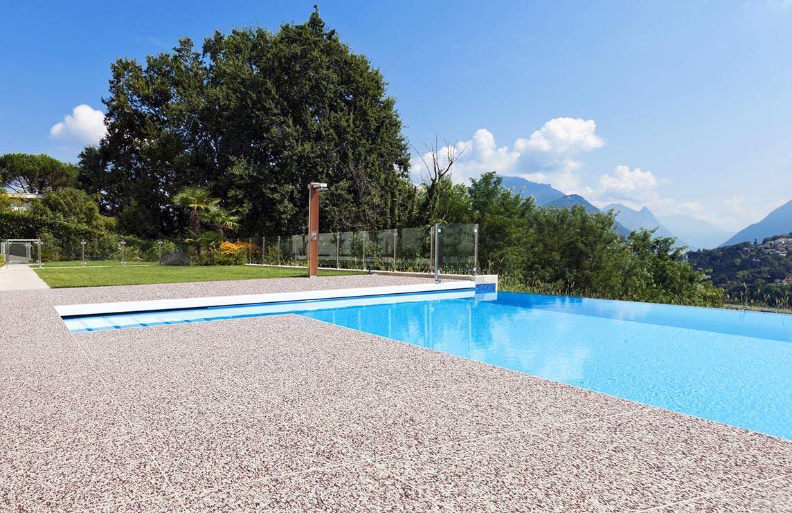 Superior Drainfloor: Natursteinteppich Mit Eingebauter Entwässerung Aus  Fertigelementen