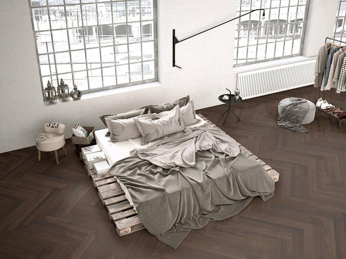 Fußboden Weiß Xl ~ Zeitgemäß: pflegeleichtes fischgrät parkett in rohoptik und im xl format