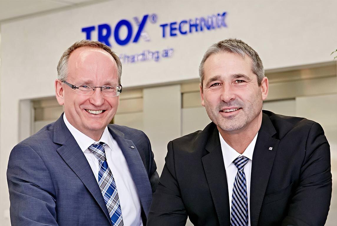 Thomas Mosbacher (Finanzen/ Personal) und Udo Jung (Vertrieb/ Technik/ Produktion)