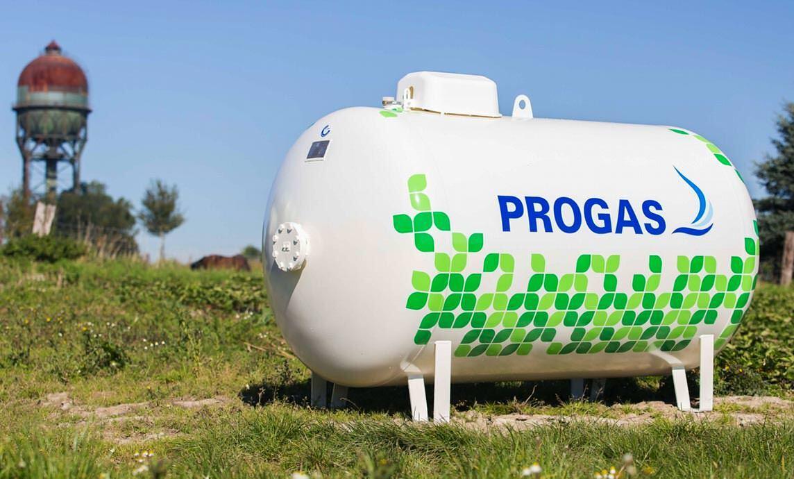 Flüssiggas-Tank