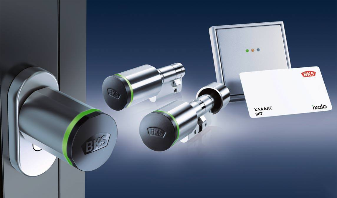 elektronischer schliesszylinder ixalo mit passiver rfid mifare transpondertechnologie preisvergleich