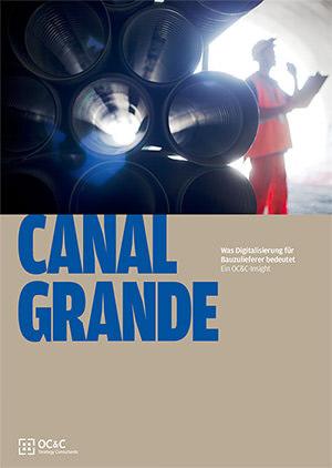 """Studie """"Canal Grande"""" von Unternehmensberatung OC&C Strategy Consultants"""
