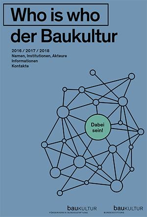 """""""Who is who"""" der Baukultur"""