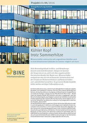 BINE-Projektinfo
