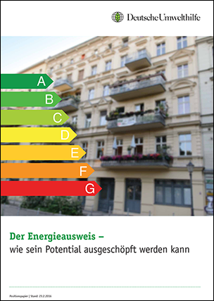 "Positionspapier ""Der Energieausweis- wie sein Potential ausgeschöpft werden kann"""