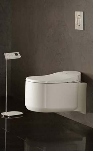 sensia arena neues dusch wc von grohe mit lady dusche und. Black Bedroom Furniture Sets. Home Design Ideas