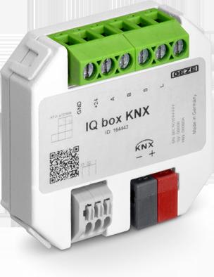 KNX-Schnittstellenmodul IQ box KNX