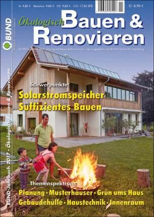 """BUND-Jahrbuch 2017 """"Ökologisch Bauen & Renovieren"""""""
