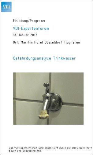 Expertenforum zur Gefährdungsanalyse von Trinkwasser am 18. Januar 2017