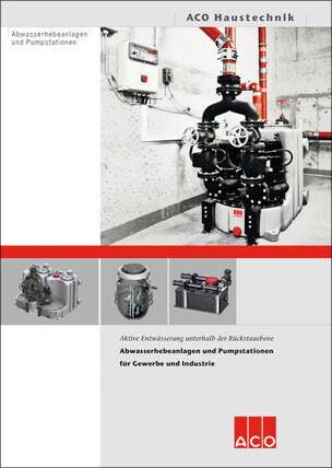 Abwasserhebeanlagen und Pumpstationen für Gewerbe und Industrie