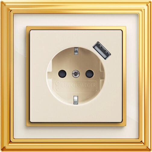 Busch-dynasty: SCHUKO USB-Steckdose