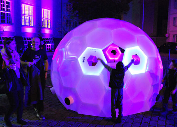 Vorschau: Geodesic-Sound Naxoshalle von Hochschule Trier