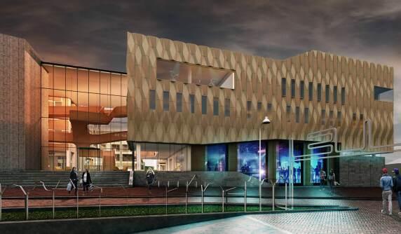 Visualiserung © Architekturbüro De Zwarte Hond, Rotterdam