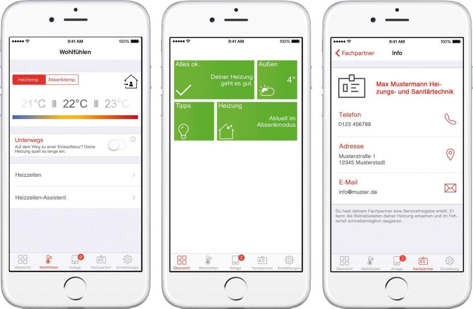 Viessmann digital mit Vitoconnect, ViCare und Vitoguide