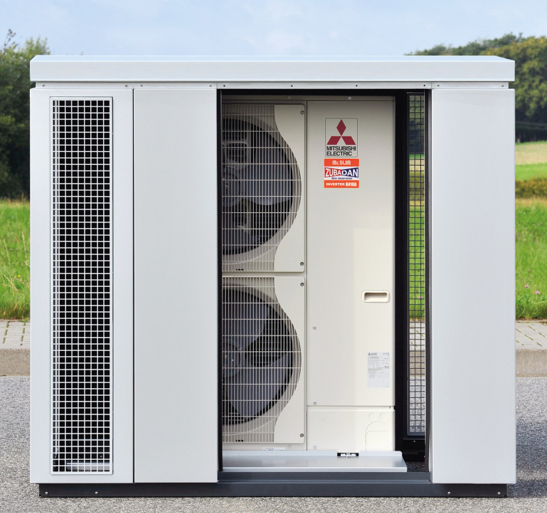 Quiet & Safe: Mitsubishi Electric lanciert Einhausungs ...