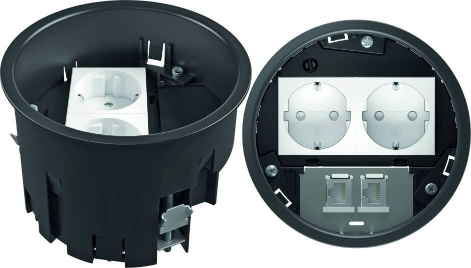 Fußboden Im Auto Nass ~ Vde zertifiziert mit ip bodensteckdosen für nass gepflegte fußböden