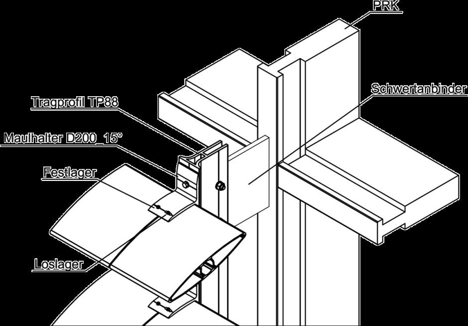 neues tragprofil von mll hamburg speziell f r starre sonnenschutzanlagen. Black Bedroom Furniture Sets. Home Design Ideas