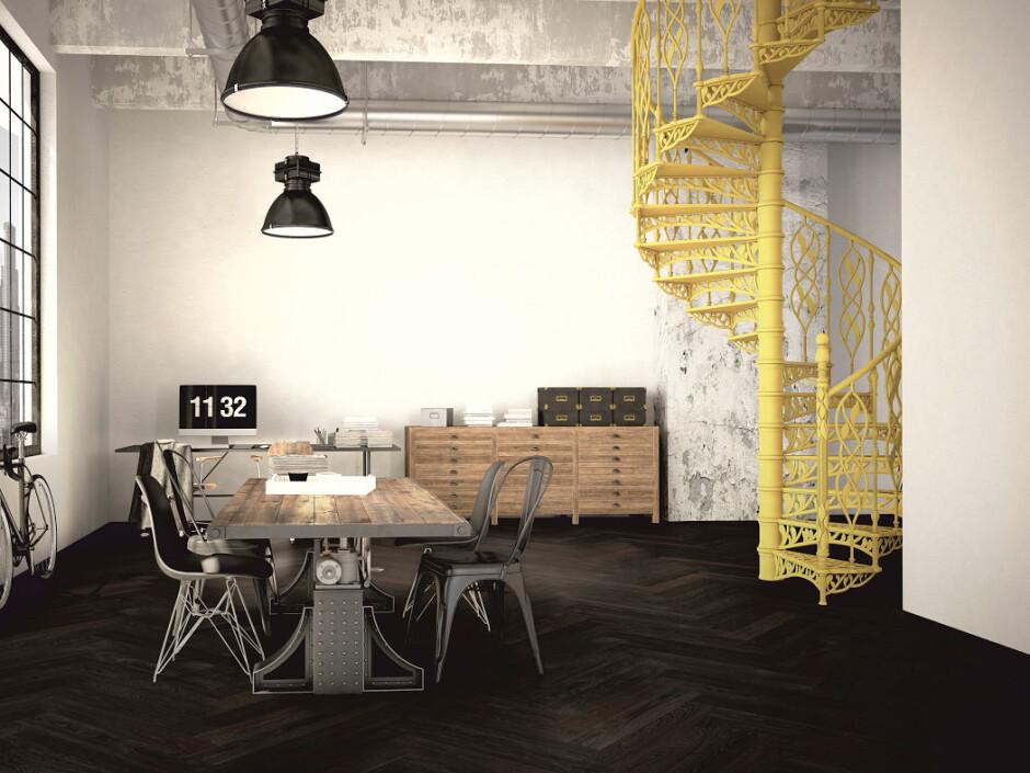 zeitgem pflegeleichtes fischgr t parkett in rohoptik und im xl format. Black Bedroom Furniture Sets. Home Design Ideas