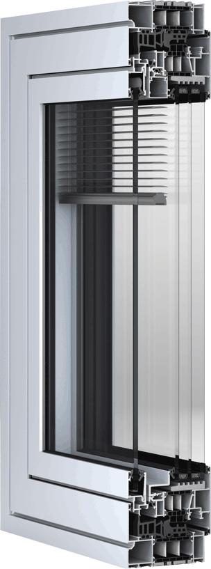 wicline115 afs neues verbundfenster von wicona mit integrierter jalousie und hohem schallschutz. Black Bedroom Furniture Sets. Home Design Ideas