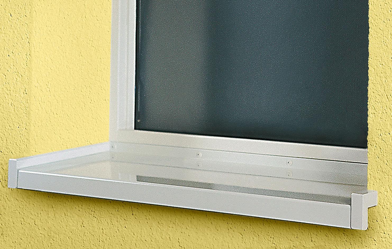 Getestet: Fensterbank StoFentra Uni schlagregendicht bis 1.200 Pascal