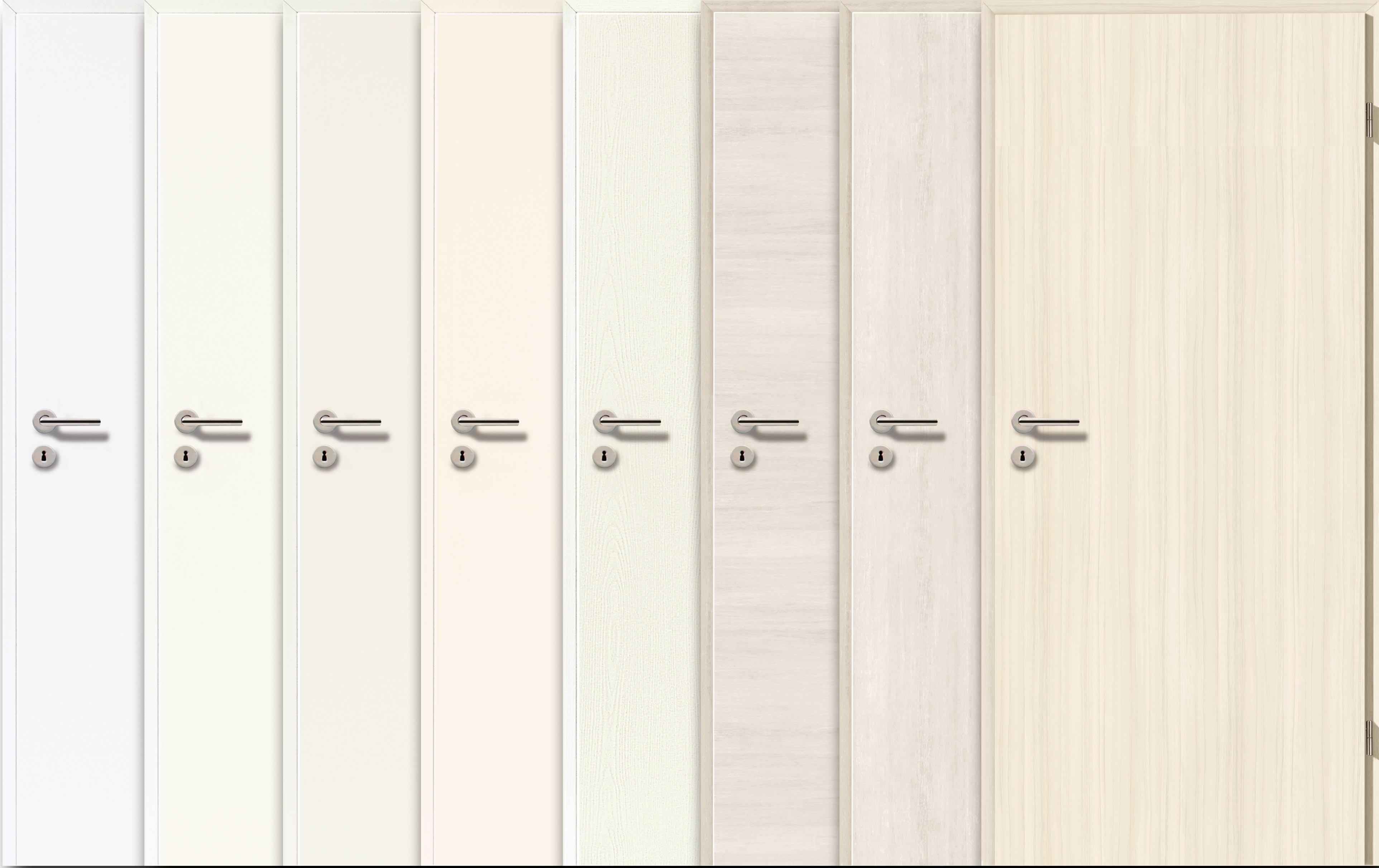 Weiße tür mit zarge  Weiß ist nicht gleich Weiß - auch bei Zimmertüren