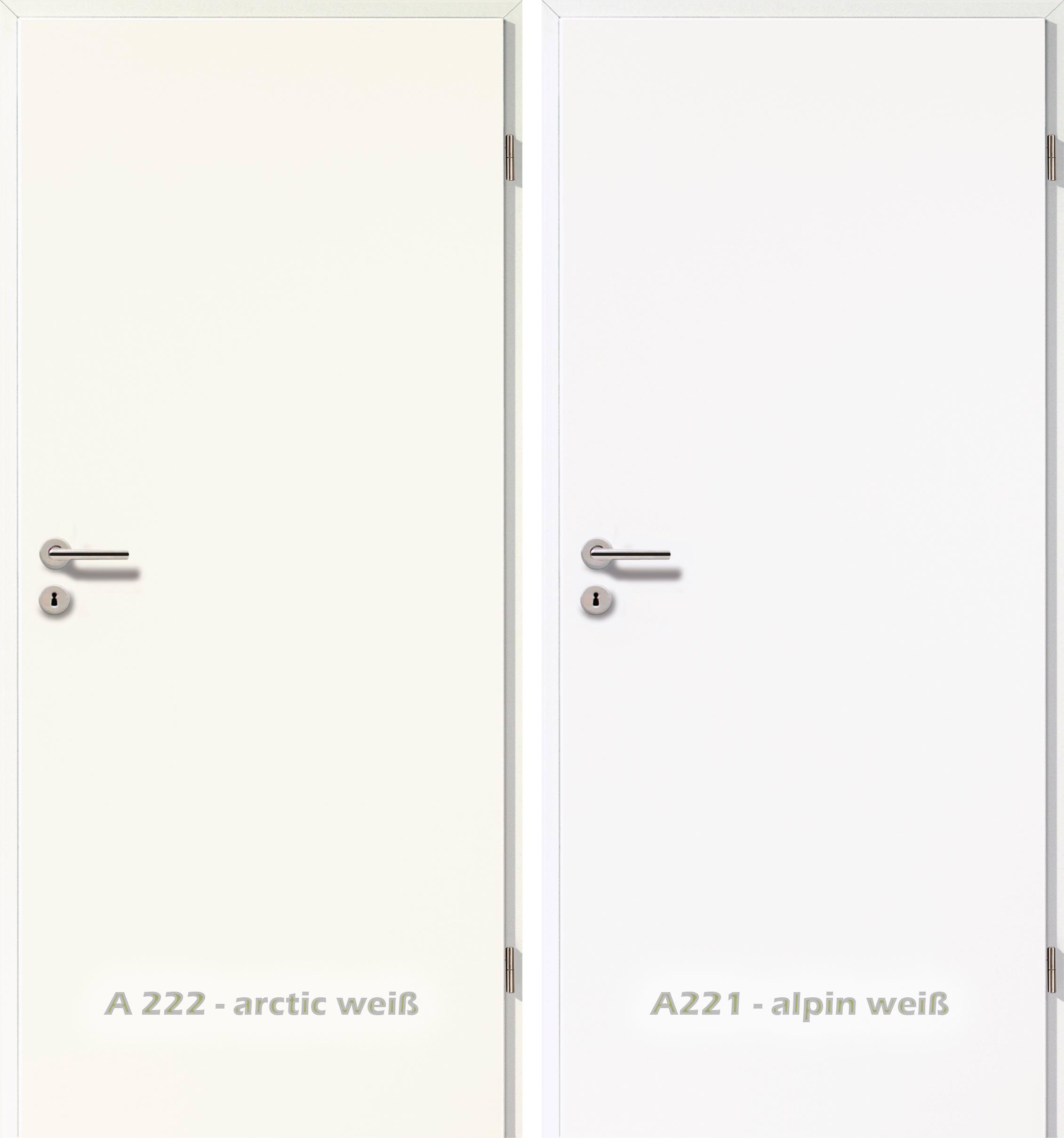 Zimmertüren weiß  Weiß ist nicht gleich Weiß - auch bei Zimmertüren