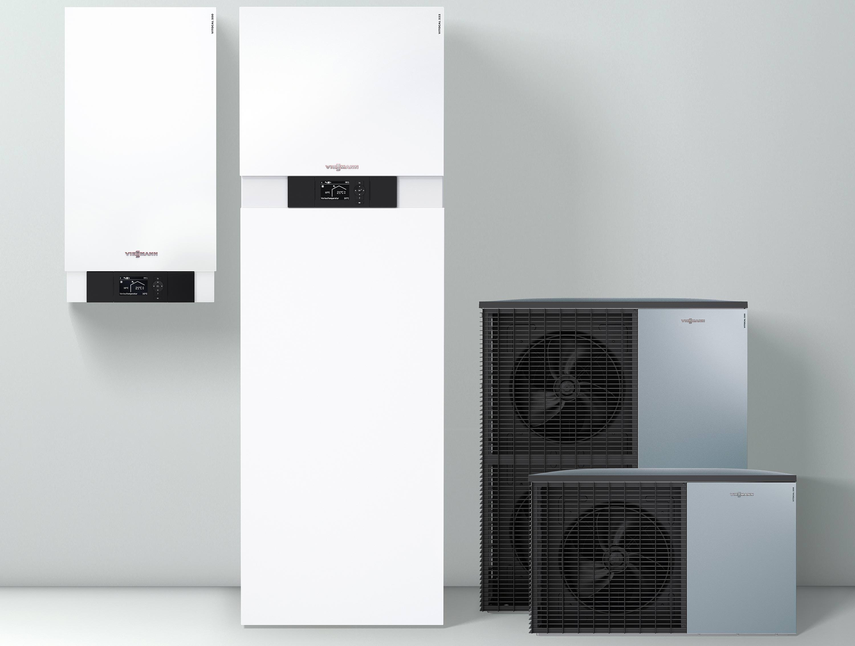 Komplett Neue Luft Wasser Warmepumpen Baureihe Von Viessmann
