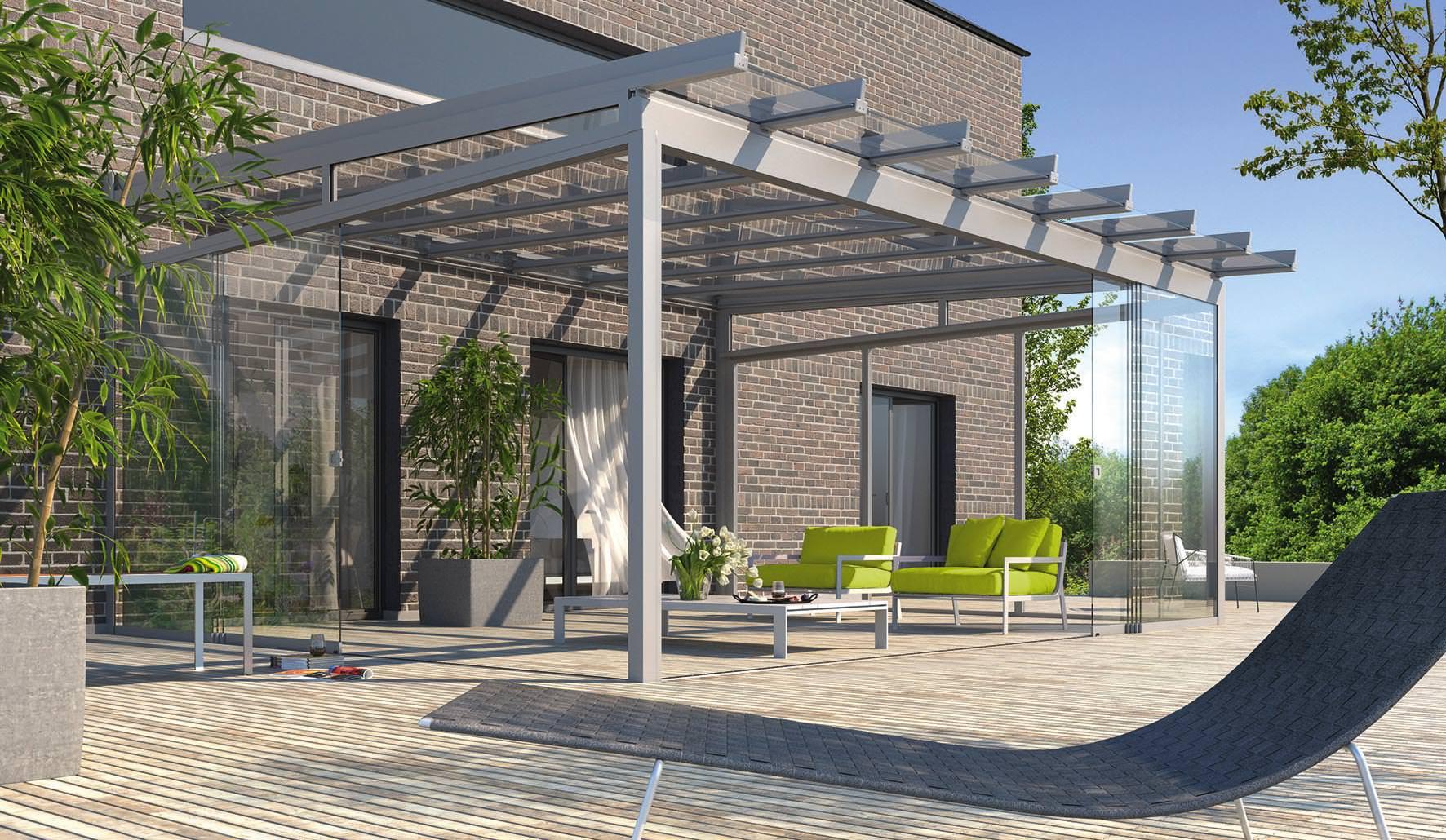 Area Wohnraumerweiterung Mit Terrassendach Systemen A La Leiner