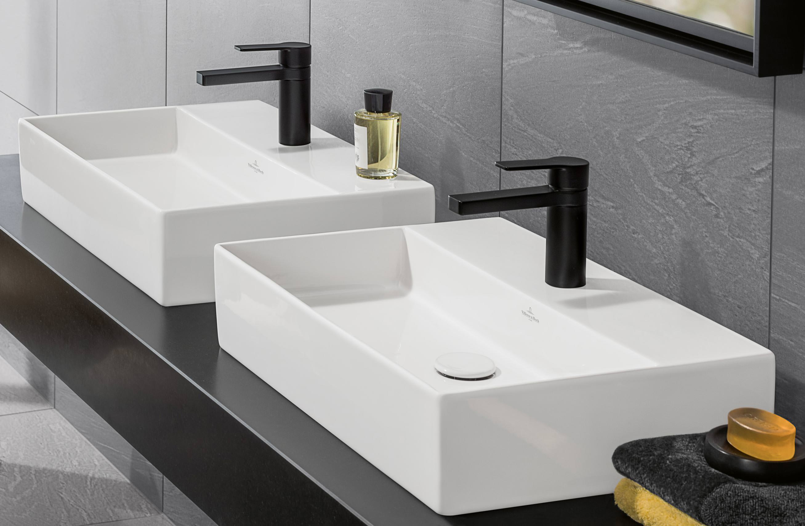 villeroy bochs memento aufsatzwaschtisch jetzt auch aus titanceram und in betonoptik. Black Bedroom Furniture Sets. Home Design Ideas