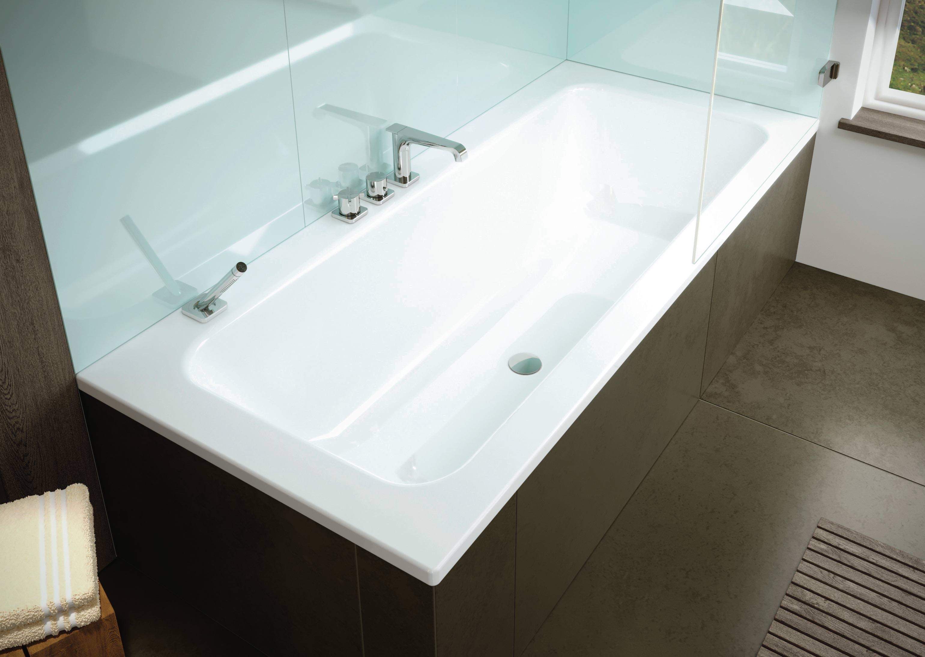 puro set wide kaldeweis erste wanne zum baden und duschen. Black Bedroom Furniture Sets. Home Design Ideas