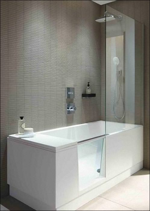 shower bath walk in dusche und badewanne la duravit bauwesen nachrichten newslocker. Black Bedroom Furniture Sets. Home Design Ideas