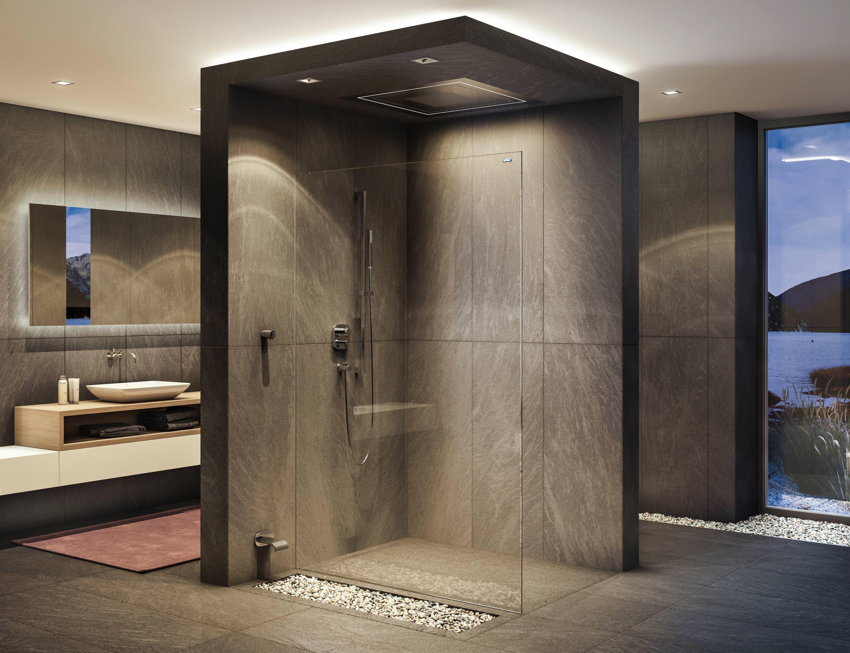 Duscholux Duschwand air 2 von duscholux: die wohl minimalistischste duschwand