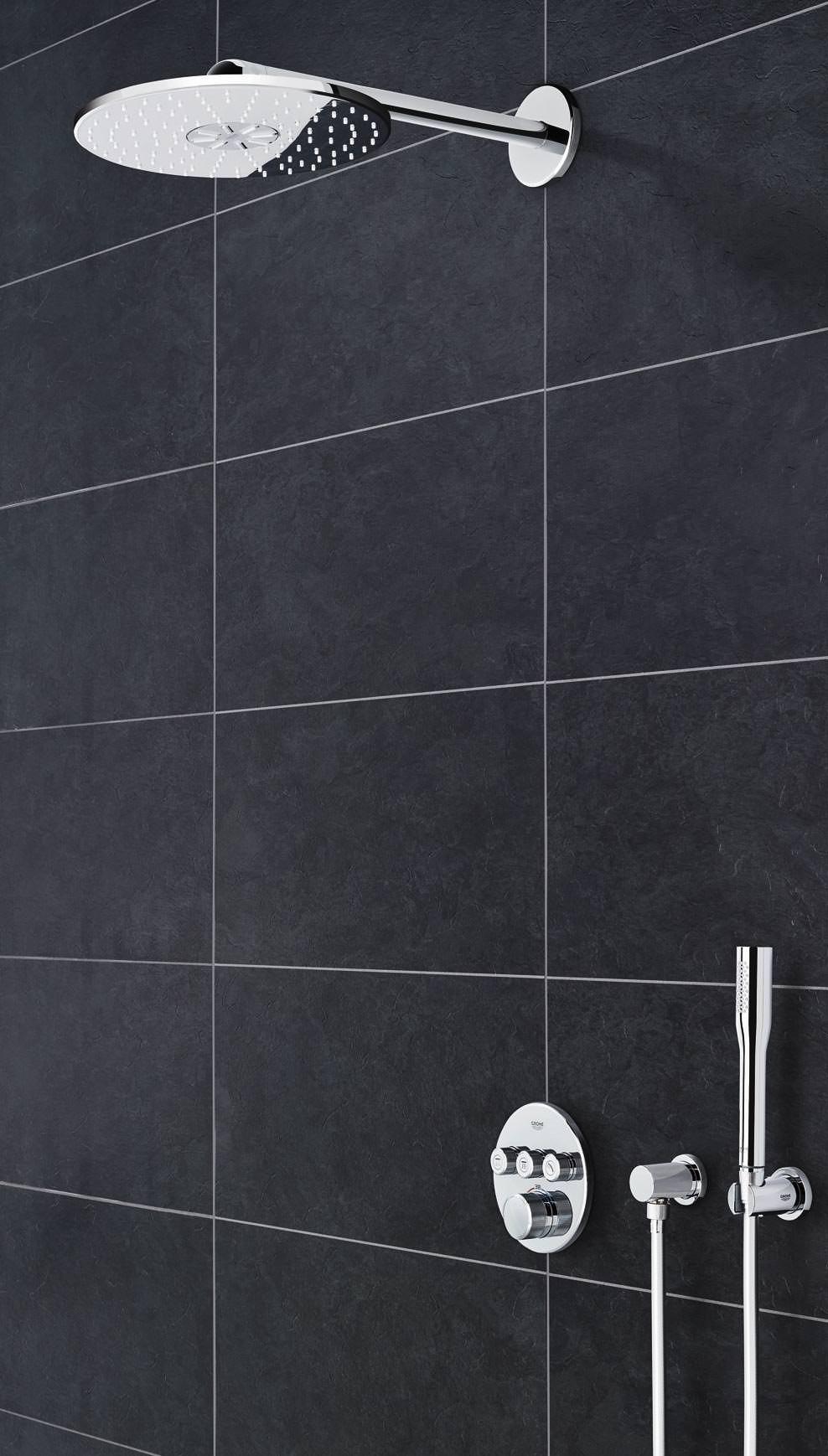 neue kopfbrausen generation von grohe kongenial nutzbar. Black Bedroom Furniture Sets. Home Design Ideas