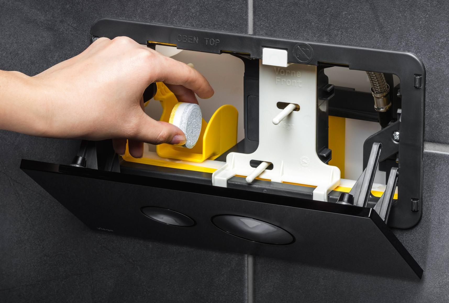 Fabulous Viega Unterputz-Spülkästen mit Einwurfschacht für WC WU31