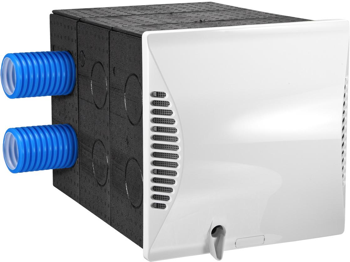 dezentrale ein und zweiraum l ftung von dimplex mit enthalpie w rmetauscher und heizregister. Black Bedroom Furniture Sets. Home Design Ideas