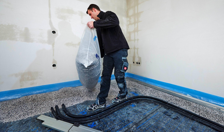 neue leichte sch ttung auf perlit basis geeignet f r nass und gussasphaltestriche. Black Bedroom Furniture Sets. Home Design Ideas