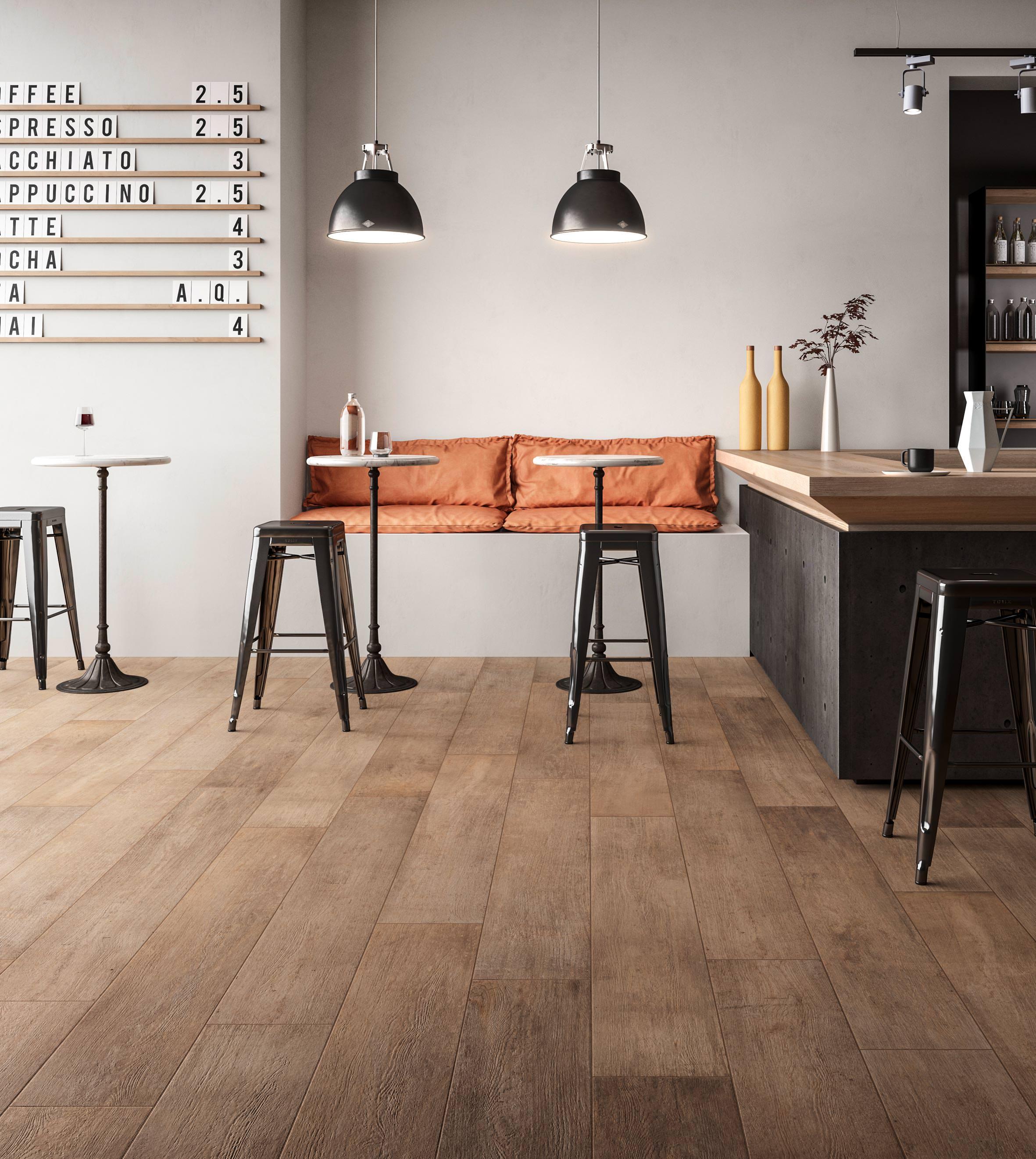 Craft Und Epoque Neue Bodenfliesen Im Industrial Look Von - Fliesen im laminat look