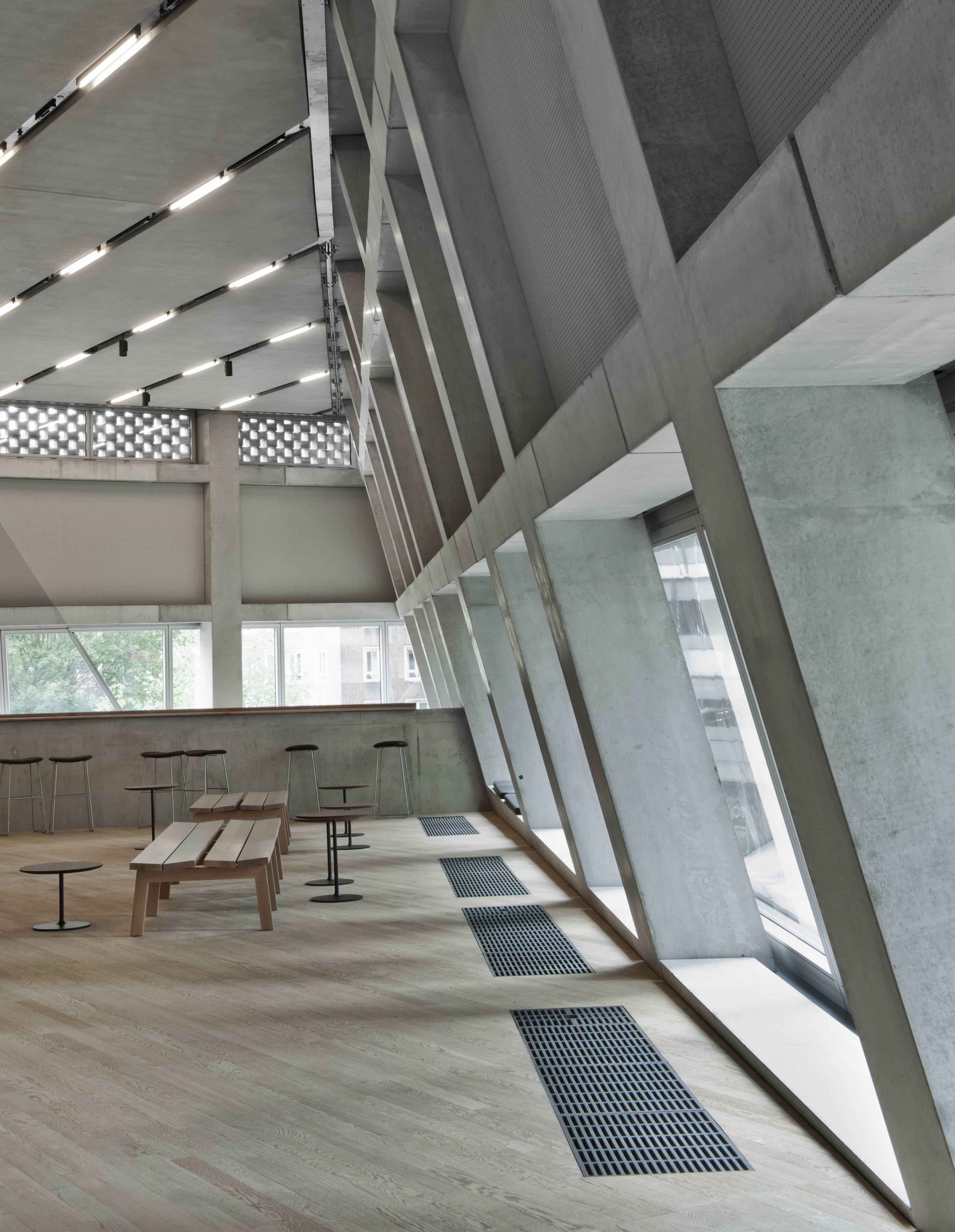 Erweiterung der Tate Modern von Herzog & de Meuron als perforierte ...