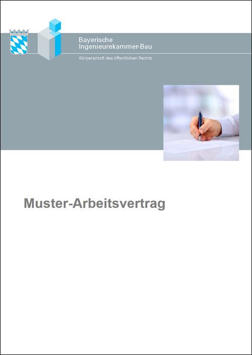 muster arbeitsvertrag der bayika kostenfrei downloadbar - Anderung Arbeitsvertrag Muster