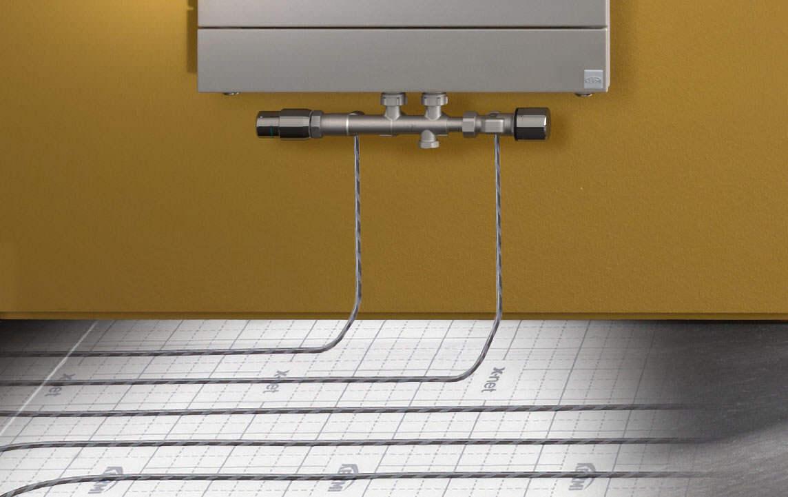 x-link plus Anschlussgarnitur für Kompaktheizkörper