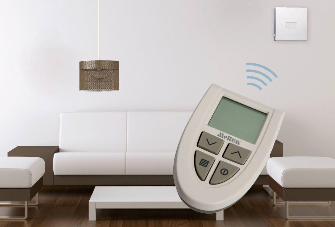 Funkfernbedienung M-WRG-FBH für dezentrale Lüftungsgeräte von Meltem