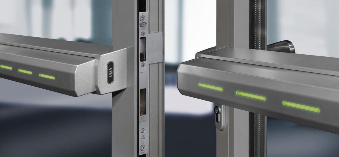 Elektrisch verriegelbare Touch Bar