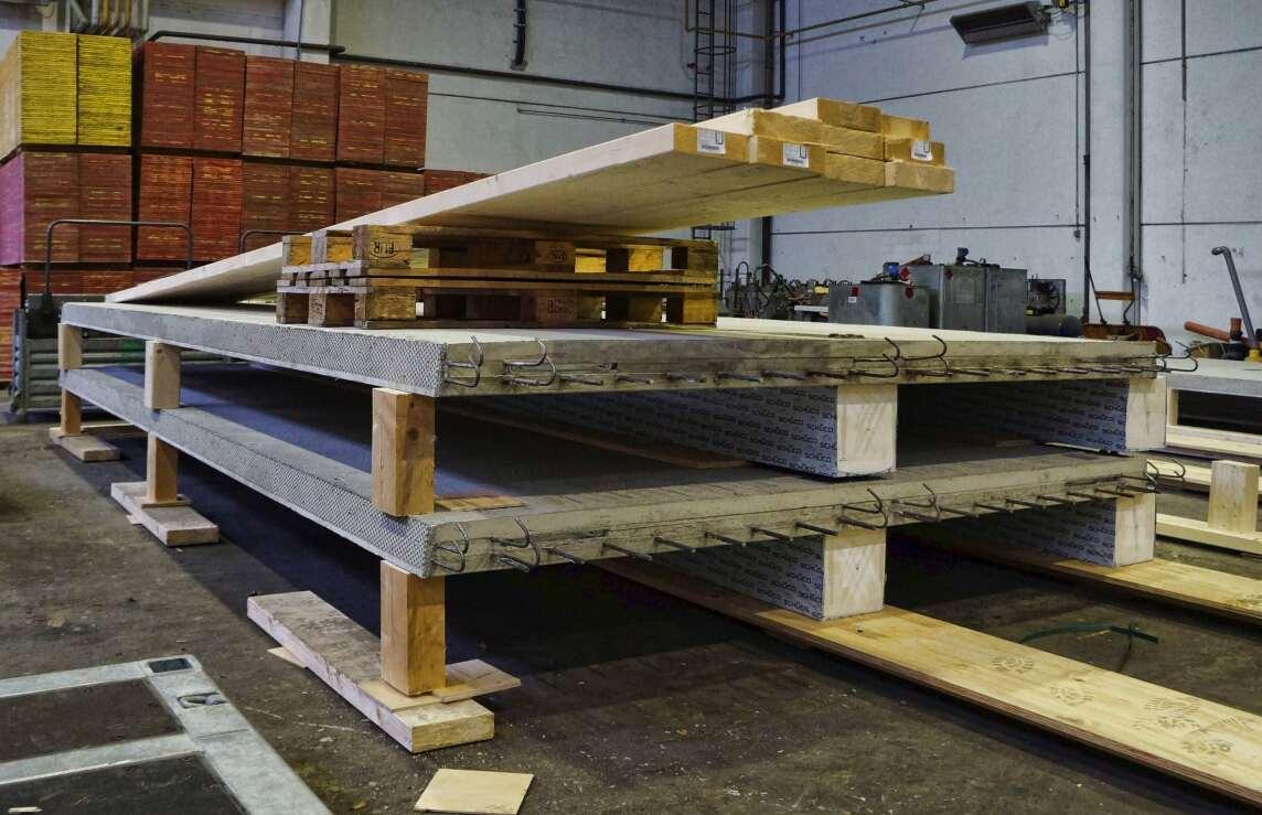 Holz-Beton-Verbunddecke (HBV-Decke)