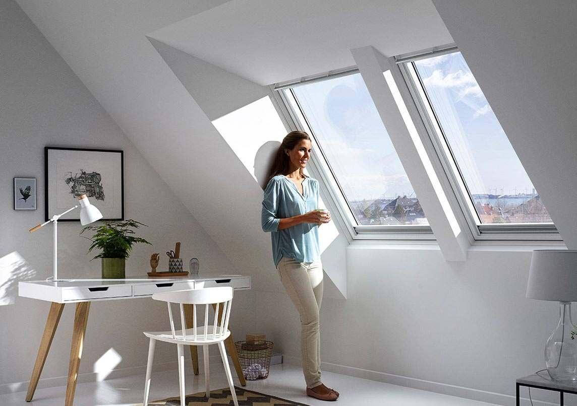 """Panorama dachfenster velux  Tageslicht und Kopffreiheit: Velux macht mit """"Panorama"""" und """"Raum ..."""