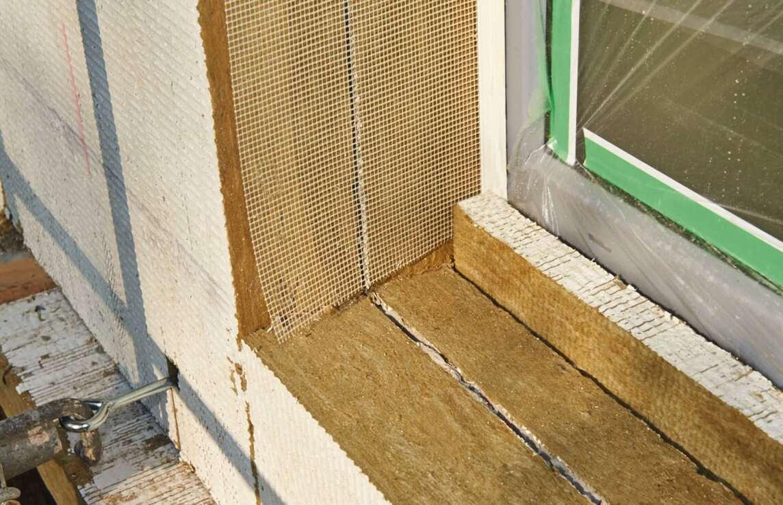 """Mit den Steinwolle-Dämmplatten """"Coverrock"""" und """"Coverrock II"""" lassen sich Dämmungen der Gebäudehülle bis zu einer Dicke von 400 mm erstellen."""