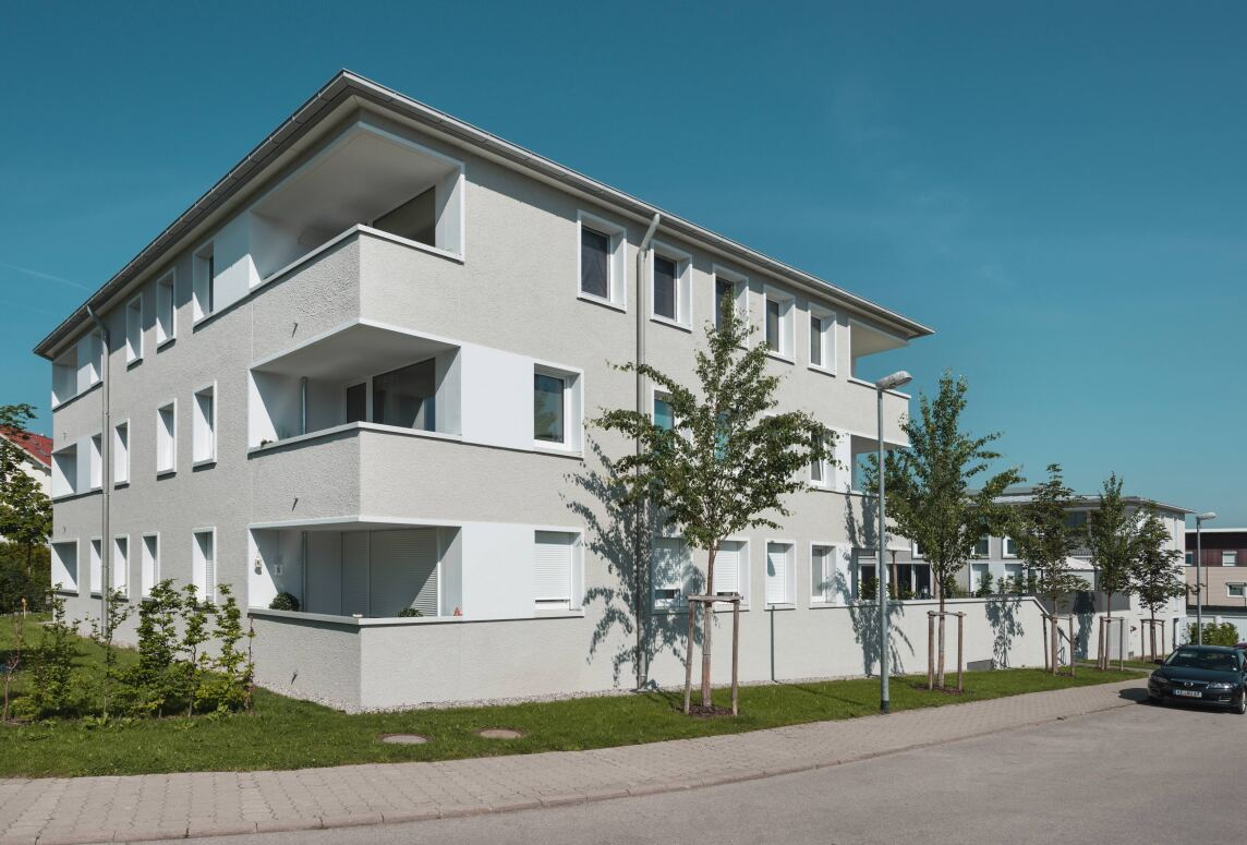 """Sonderpreis """"Kostengünstiger, energieeffizienter Geschosswohnungsbau"""": Genossenschaftliches Wohnen, Kempten"""
