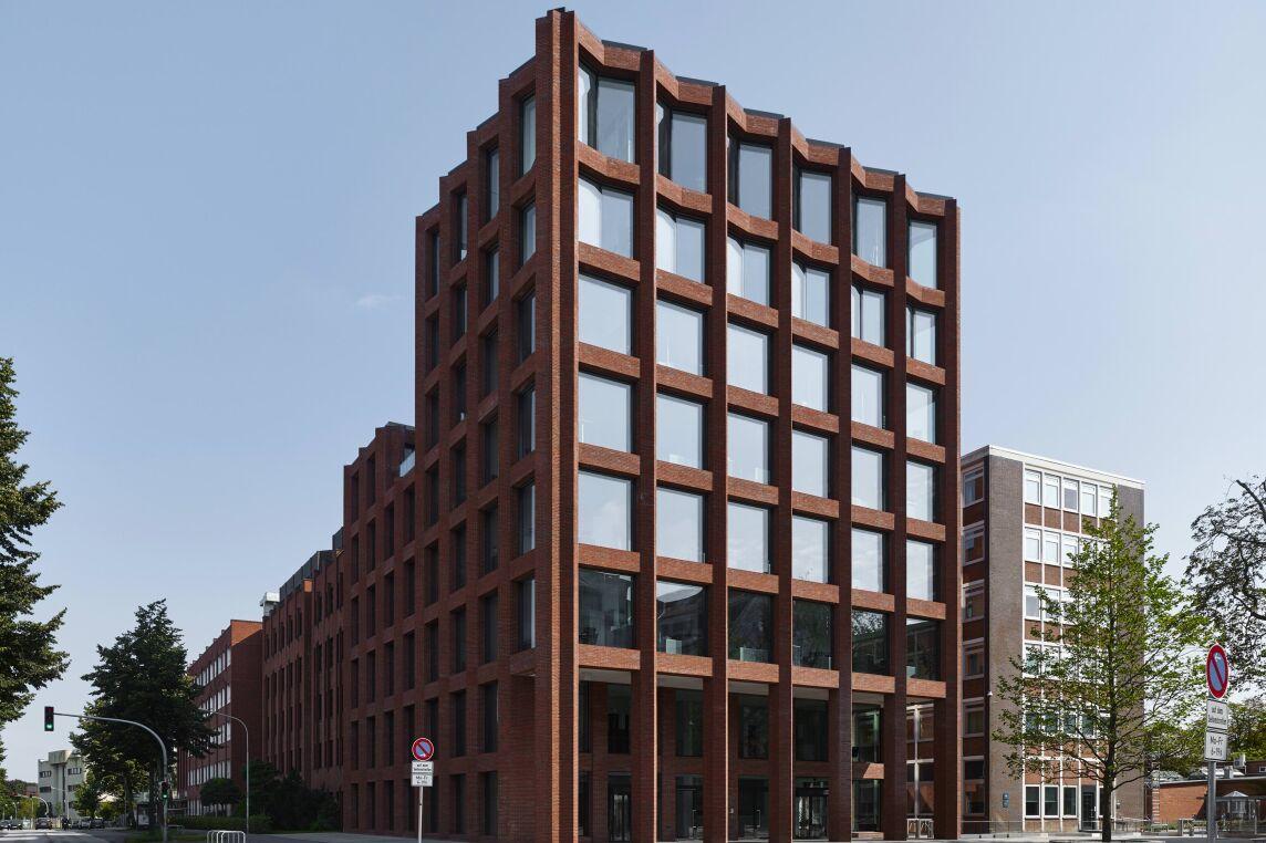"""Sonderpreis """"Detail"""": Empfangsgebäude Drägerwerke, Lübeck"""